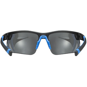 UVEX Sportstyle 221 Glasses black blue/mirror blue